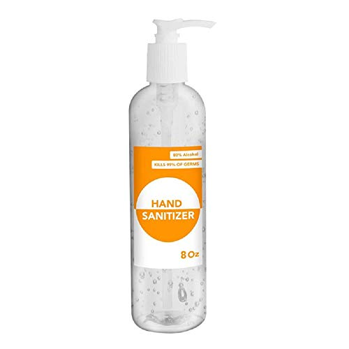 Hand Cleaner Gel | Fight Against Spread Of Germs Diseases | Organic & Natural Ingredients Improves Your Skin Defense Shield | 8 oz (20 Pack)