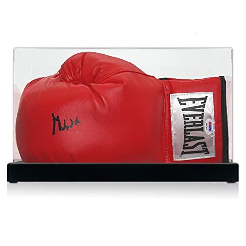 exclusivememorabilia.com Muhammad Ali firmó el Guante de Boxeo (PSA DNA 6A07662). En Vitrina