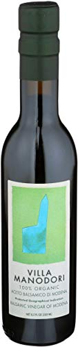 Villa Manodori Organic Balsamic Vinegar, 8.8-Ounce Bottle