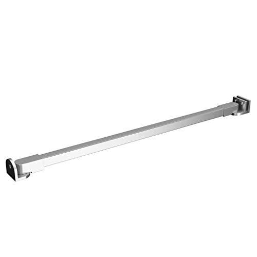 vidaXL Duschwand Stabilisierungsstange Stabilisator Haltestange Wandhalterung Dusche Duschabtrennung Duschtrennwand Edelstahl 47,5cm
