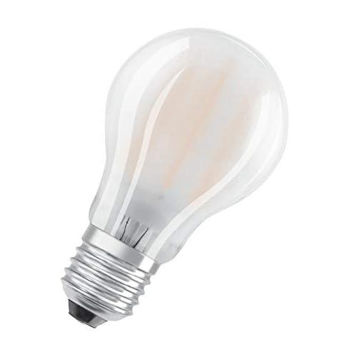 OSRAM Goccia Lampadine LED, 7.5 W Equivalenti 75 W, Attacco E27, Luce Calda 2700K, Confezione da 10 Pezzi