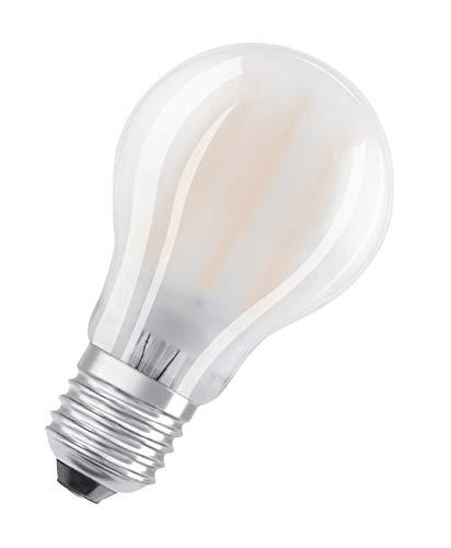 OSRAM Lot de 10 Ampoules LED   Culot E27   Blanc froid   4000 K   7,50 W équivalent 75 W   dépolie   LED Retrofit   Forme Standard