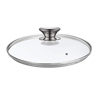 Cook N Home Tempered Glass Lid, 10.24 inches, Clear