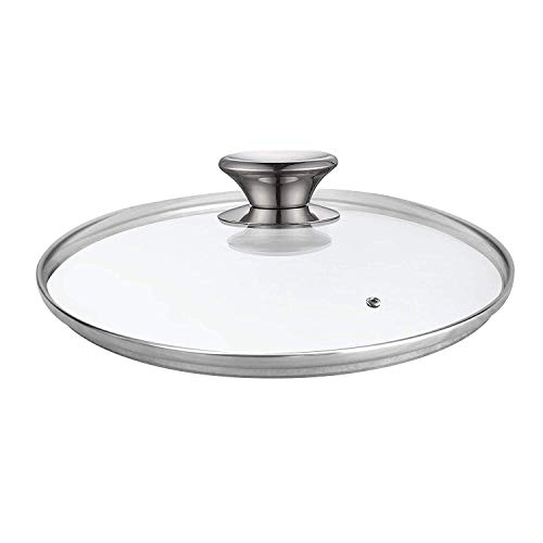 Cook N Home 02652 Tempered Glass Lid, 10.24 inches, Clear