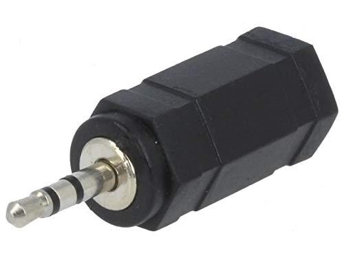 Premium Cord - Adaptador estéreo Clavija de 2