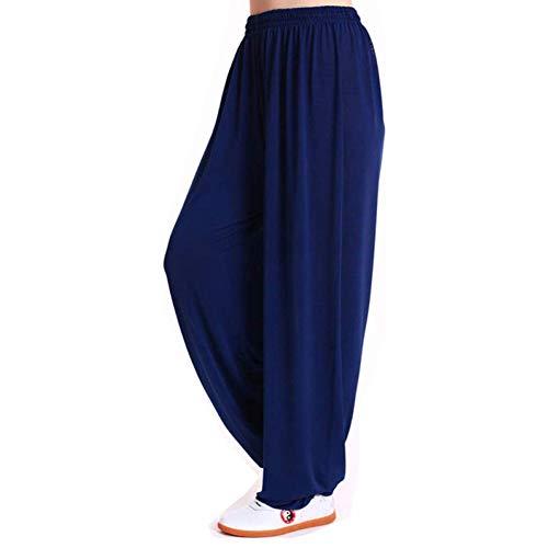 Mr. Hao Tai Chi Lanterne Pantalon de Yoga Kung Fu Vêtements Confortable Respirant Pilates Fitness Exercice Exercice Sport M G