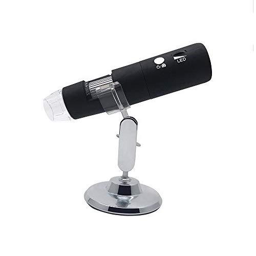 Wifi Digital Mikroskop, 1080P HD 2MP Kamera mit 50 x bis 1000 x Vergrößerung Handheld Endoskop Tagfahrlicht Mini Kamera für iPhone/iPad/Android Phone/Windows/Mac