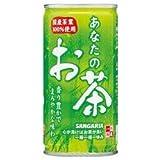 サンガリア あなたのお茶190g缶×30本入×(2ケース)