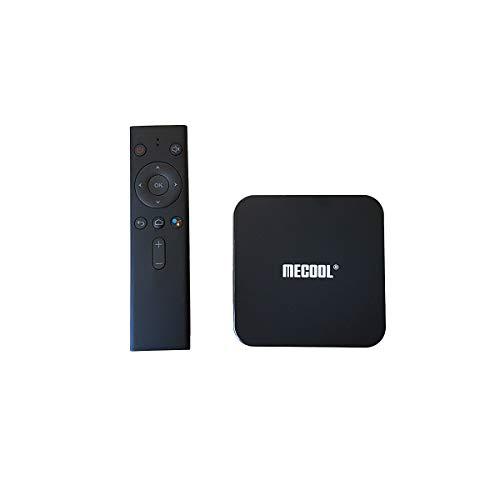 Caja Android TV MECOOL KM9PRO Classic | Certificación Google | 4K | Wi-Fi | Google Assitant | Chromecast Integrado | 2GB RAM 16GB ROM | HDMI | RJ45