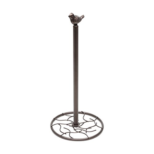 Porta Papel Toalha Lyor Bronze 18 x 38 cm Ferro Pintado