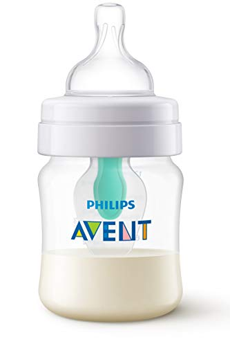 Philips Avent SCF810 14 - Biberón anti cólicos con sistema patentado Airfree, 125 ml