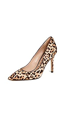 Sam Edelman Women's Hazel Pump, Sand Leopard, 8 W US