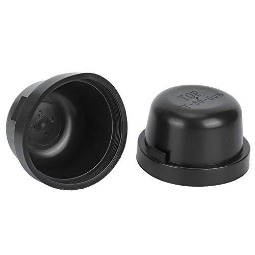 80mm Scheinwerfer-Dichtungskappe, 2-tlg. Gummigehäuse-Dichtungskappe Staubschutzhülle Für LED-HID-Scheinwerfer DIY-Nachrüstarbeiten