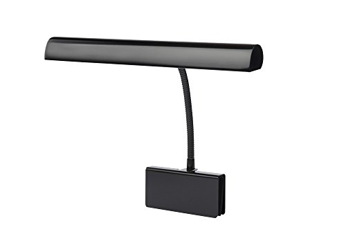 Cocoweb GPLED14-7D LED Grand Piano Lamp, 14', Black