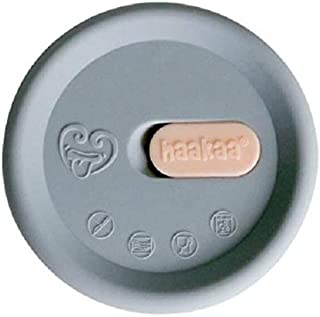 Haakaa Silicone Breast Pump Cap, Grey
