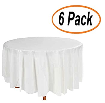 Best disposable round table cloth Reviews