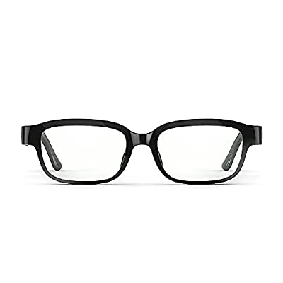 Echo Frames (2nd Gen)   Smart audio glasses with Alexa   Classic Black by Amazon