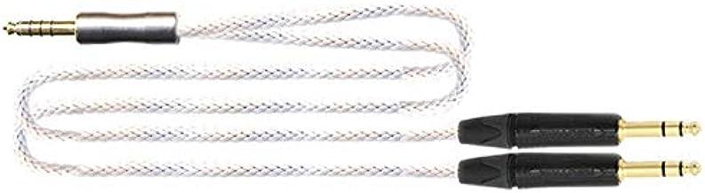 トップウィング 4.4mm ⇒ TRS x 2変換ケーブルTOPWING WHITE-BARREL4.4TRS