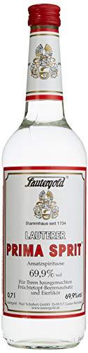 Lauterer Prima Sprit 0,7l 69,9% vol. Ansatzspirituose Alkohol