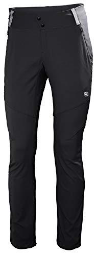 Helly Hansen Skar Aire Libre Hiking Excursionismo Pantalones con Estiramiento, Mujer, Ébano, S