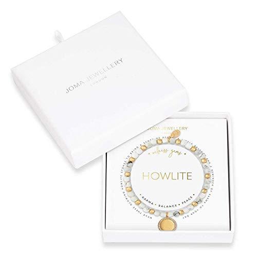 Joma Jewellery Wellness Gems | Howlite Bracelet