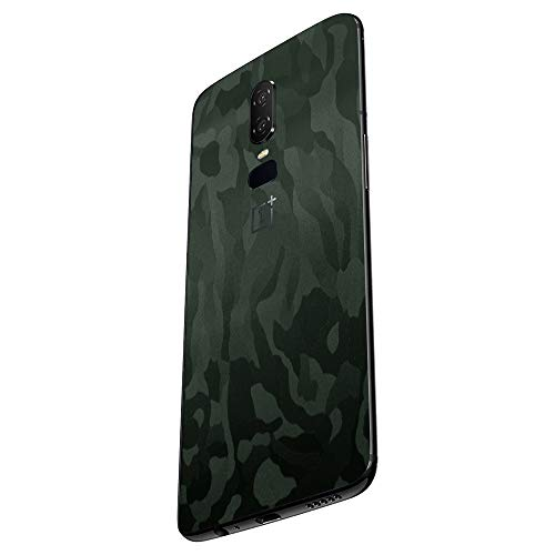 7 Layer Skinz Custom Skin Wrap Compatible with OnePlus 6 (Green Camo)