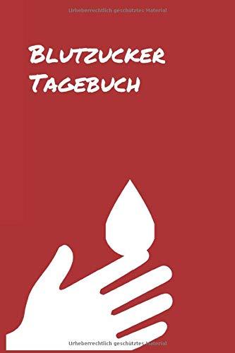 Blutzucker Tagebuch: klein (Taschenbuchgröße) | 100 Seiten mit Vordruck zum ausfüllen für diabetes Typ 1 und Typ 2