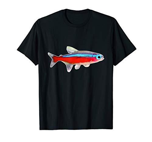 Neonsalmler Neonfisch Aquarienfisch I Hobby Aquaristik T-Shirt