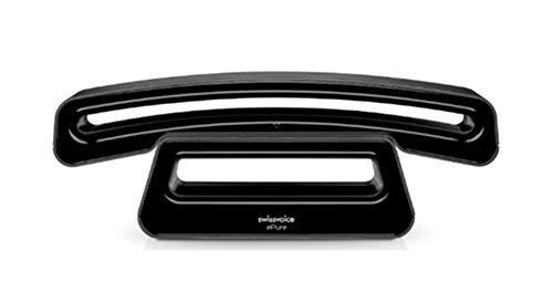 Swissvoice Epure DECT-Gap - Teléfono inalámbrico, Color Negro