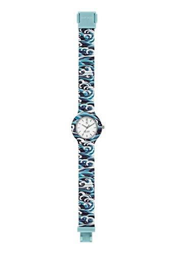 Hip Hop Watches - Orologio da Donna Hip Hop Blue HWU0862 - Collezione I Love Japan - Cinturino in Silicone - Cassa 32mm - Impermeabile