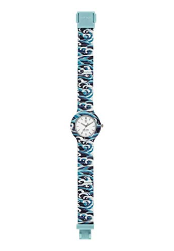 Hip Hop Watches - Orologio da Donna Hip Hop Blue HWU0862 - Collezione I Love Japan - Cinturino in Silicone - Cassa 32mm - Impermeabile