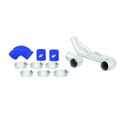 Mishimoto Mmicp-evo-10lbl inférieur Intercooler kit de conduite, Bleu