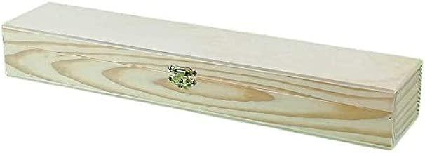 Caja rectangular madera. En crudo, para pintar. Ideal para ...