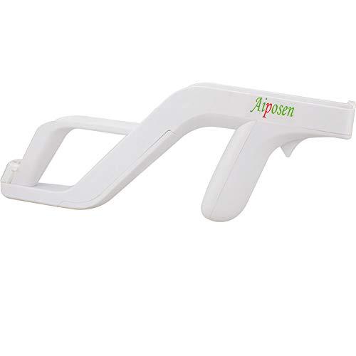 Aiposen Zapper Light Gun for Nintendo Wii - Links Remote / Nunchuk for Shooting Games(White)