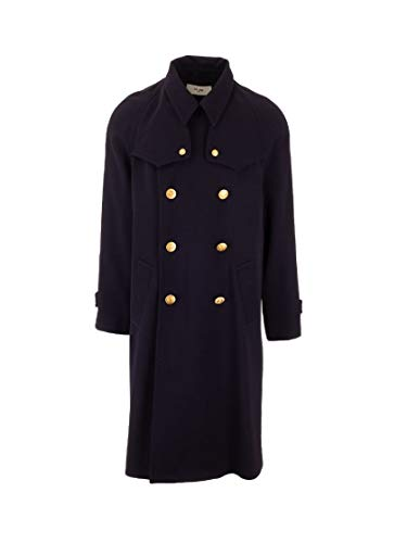 Luxury Fashion | Céline Heren 2M391959C07MR Donkerblauw Wol Trenchcoats | Lente-zomer 20