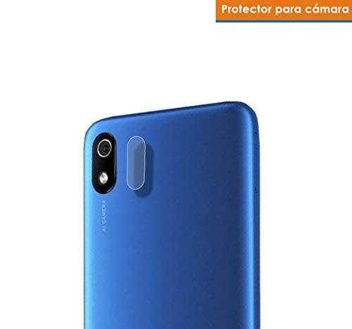 Tumundosmartphone Protettore in Vetro Temperato Fotocamera Posteriore per Xiaomi Redmi 7A vitro