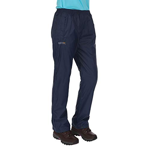 Regatta Pack-It Regenhose für Damen, Blau (marine), Gr. Medium (38-40 EU)