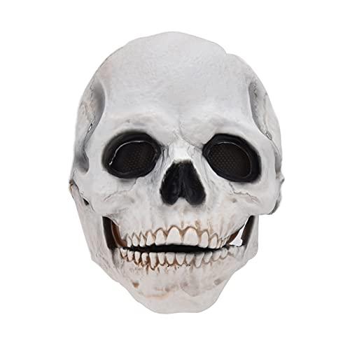 Máscara Assustadora de Halloween, Látex para Fantasia Cosplay Prop, Terror Ghost Devil Mask Monstro Drácula Assustador Fantasma Palhaço Assustador Máscaras Arrepiante Caveira De Terror(#2)