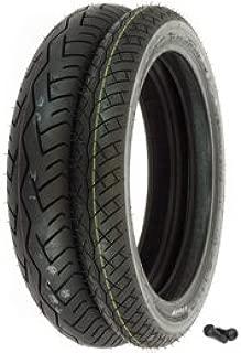 Bridgestone BT-45 Tire Set - Compatible with Honda VF500C VT500C - Tires and Valves