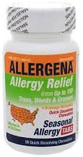 Allergena Seasonal Allergy 90 Chewable Tablets