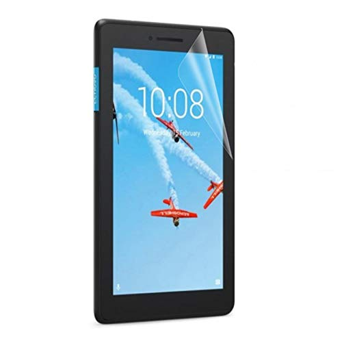 Lobwerk 2X Schutzfolie für Lenovo Tab E7 TB-7104F 7 Zoll Bildschirmschutz Folie klar transparent Anti-Fingerprint