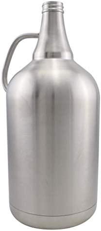 128oz Stainless Steel Insulated Beer Growler product image