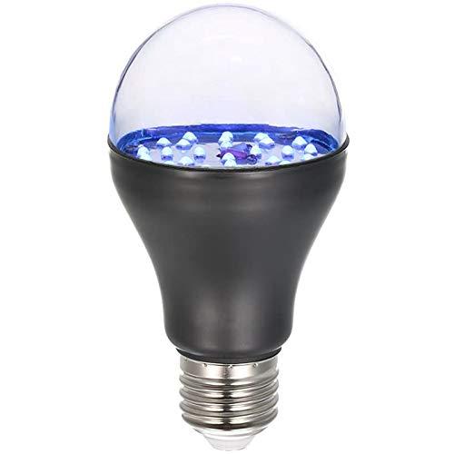 SNOWINSPRING Bombilla UV AC100V-240V A19 Luz Negra Ultravioleta para DesinfeccióN AtraccióN de Insectos ValidacióN Monetaria Identificar