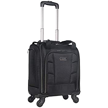 Kenneth Cole Reaction 18  Lightweight Multi-Pocket Anti-Theft RFID 14.1  Laptop & Tablet Underseater Carry-On With USB Charging Port Black One Size