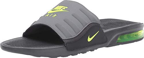 Nike Men's Air Max Camden Slide Anthracite/Dark Grey/Cool Grey/Volt BQ4626-001 (Size: 13)