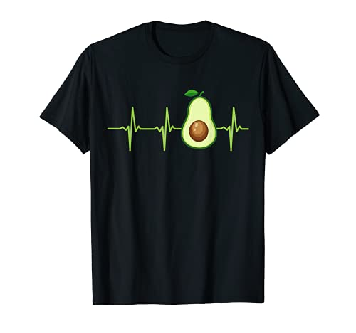 Aguacate Heartbeat - Camiseta de aguacate para hombre y mujer Camiseta