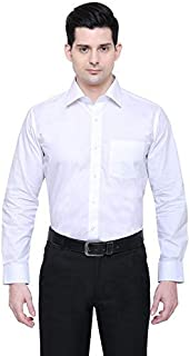 PROLIAN Men's Paper Cotton Casual Shirt for Men Full Sleeves