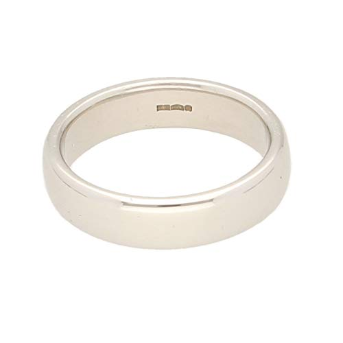 Jollys Jewellers Alianza de boda de platino 950 para hombre (talla P),...