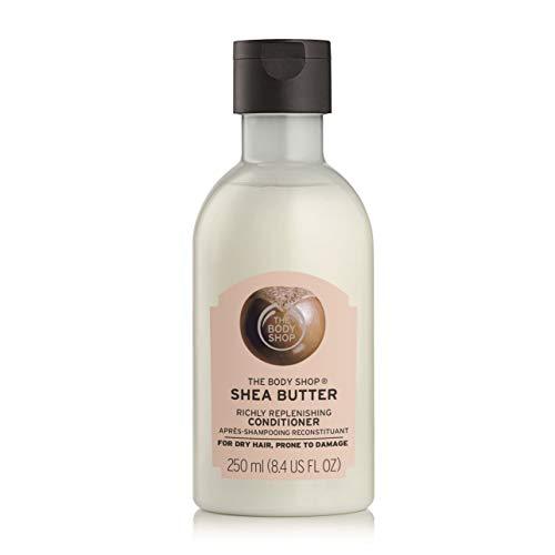 The Body Shop - Acondicionador de reposición de manteca de karité, 250 ml, para cabello seco, propenso a dañar.