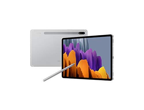 Samsung Galaxy Tab S7 SM-T875N 27.9 cm (11') Qualcomm Snapdragon 6 GB 128 GB Wi-Fi 6 (802.11ax) 4G LTE Silver Android 10 Galaxy Tab S7 SM-T875N